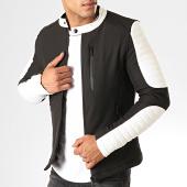 /achat-vestes/mtx-veste-zippee-945-k1-noir-blanc-192757.html