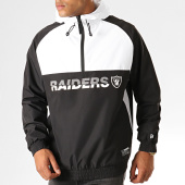 /achat-coupe-vent/new-era-coupe-vent-col-zippe-capuche-nfl-colour-block-oakland-raiders-12033397-noir-blanc-192710.html