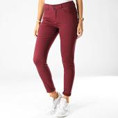 /achat-jeans/vero-moda-jean-slim-femme-hot-seven-bordeaux-192869.html