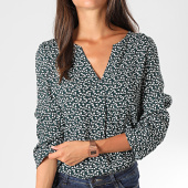 /achat-t-shirts/vero-moda-top-femme-siri-vert-floral-192874.html