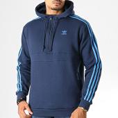 /achat-sweats-zippes-capuche/adidas-sweat-col-zippe-capuche-a-bandes-3-stripes-ek0255-bleu-marine-193022.html