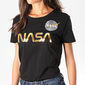 /achat-t-shirts/alpha-industries-tee-shirt-femme-nasa-pm-198053-noir-dore-192945.html