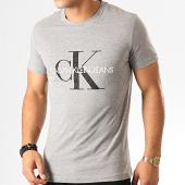 /achat-t-shirts/calvin-klein-tee-shirt-monogram-4314-gris-chine-192995.html