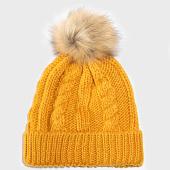 /achat-bonnets/deeluxe-bonnet-femme-praloup-jaune-moutarde-193047.html