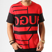 /achat-t-shirts/hugo-by-hugo-boss-tee-shirt-dongkong-50414171-rouge-noir-192967.html