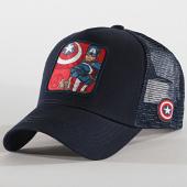/achat-trucker/captain-america-casquette-trucker-captain-bleu-marine-193085.html