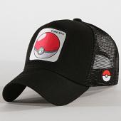 /achat-trucker/pokemon-casquette-trucker-pokeball-noir-193086.html