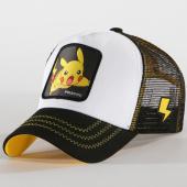 /achat-trucker/pokemon-casquette-trucker-pikachu-noir-blanc-jaune-193090.html