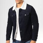 /achat-vestes/frilivin-veste-velours-col-mouton-qq536-bleu-marine-193128.html