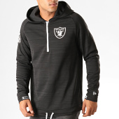 /achat-sweats-zippes-capuche/new-era-sweat-col-zippe-capuche-nfl-engineered-oakland-raiders-12033393-noir-chine-193051.html