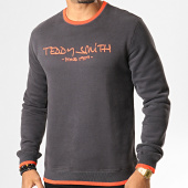 /achat-sweats-col-rond-crewneck/teddy-smith-sweat-crewneck-siclass-gris-anthracite-corail-193061.html