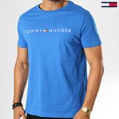 /achat-t-shirts/tommy-hilfiger-jeans-tee-shirt-cn-logo-1434-bleu-193109.html