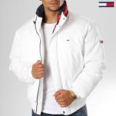 /achat-doudounes/tommy-jeans-doudoune-branded-collar-6910-blanc-193192.html