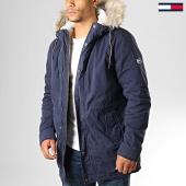 /achat-parkas/tommy-jeans-parka-cotton-lined-6911-bleu-marine-193194.html
