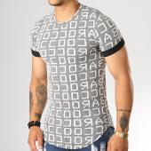 /achat-t-shirts-longs-oversize/uniplay-tee-shirt-oversize-uy444-noir-blanc-193120.html