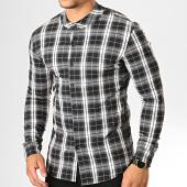 /achat-chemises-manches-longues/uniplay-chemise-manches-longues-a-carreaux-c009-noir-blanc-193190.html