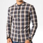 /achat-chemises-manches-longues/uniplay-chemise-manches-longues-a-carreaux-c008-bleu-marine-ecru-193191.html