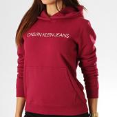 /achat-sweats-capuche/calvin-klein-jeans-sweat-capuche-femme-2308-bordeaux-193246.html