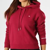 /achat-sweats-capuche/calvin-klein-jeans-sweat-capuche-crop-femme-2395-bordeaux-193247.html