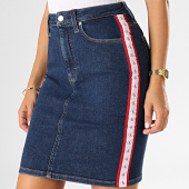 /achat-jupes/calvin-klein-jeans-jupe-jean-femme-avec-bandes-2562-bleu-denim-193252.html