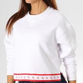 /achat-sweats-col-rond-crewneck/calvin-klein-jeans-sweat-crewneck-crop-femme-2598-blanc-193256.html