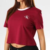 /achat-t-shirts/calvin-klein-jeans-tee-shirt-crop-femme-2701-bordeaux-193261.html