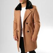 /achat-manteaux/frilivin-manteau-col-fourrure-hp050-camel-noir-193260.html