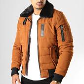 /achat-vestes/frilivin-veste-col-fourrure-ab6608-camel-noir-193298.html
