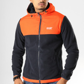 /achat-vestes/jack-and-jones-veste-zippee-capuche-polaire-king-bleu-marine-orange-193367.html