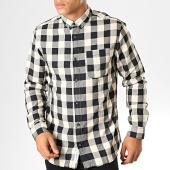 /achat-chemises-manches-longues/produkt-chemise-manches-longues-a-carreaux-dek-graham-noir-blanc-193321.html