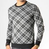/achat-sweats-col-rond-crewneck/uniplay-sweat-crewneck-a-carreaux-t655-gris-chine-193271.html