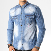 /achat-chemises-manches-longues/uniplay-chemise-jean-manches-longues-081-bleu-wash-193278.html