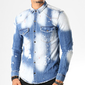 /achat-chemises-manches-longues/uniplay-chemise-jean-manches-longues-094-bleu-wash-193288.html