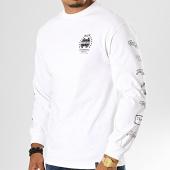 /achat-t-shirts-manches-longues/huf-tee-shirt-manches-longues-the-end-blanc-noir-193394.html