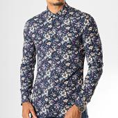 /achat-chemises-manches-longues/mtx-chemise-manches-longues-floral-7227-bleu-marine-193443.html