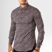 /achat-chemises-manches-longues/mtx-chemise-manches-longues-bandana-7336-marron-beige-193448.html
