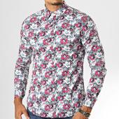 /achat-chemises-manches-longues/mtx-chemise-manches-longues-floral-7333-blanc-rose-bleu-193449.html