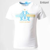/achat-t-shirts/om-tee-shirt-enfant-om-fan-m19029c-blanc-dore-193397.html