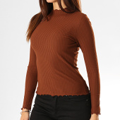 /achat-t-shirts-manches-longues/only-top-femme-emma-marron-193406.html