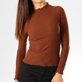 /achat-t-shirts/only-top-femme-emma-marron-193406.html