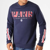 /achat-sweats-col-rond-crewneck/psg-sweat-crewneck-a-bandes-paris-saint-germain-p13053-bleu-marine-193380.html