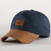 /achat-snapbacks/reell-jeans-casquette-snapback-suede-tone-bleu-marine-193490.html