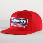 /achat-snapbacks/superdry-casquette-snapback-international-b-boy-cap-rouge-193415.html