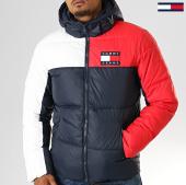 /achat-doudounes/tommy-jeans-doudoune-essential-colorblock-7116-bleu-marine-rouge-blanc-193523.html