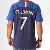 /achat-t-shirts/fff-tee-shirt-player-griezmann-n7-f19006c-bleu-marine-193740.html