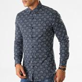/achat-chemises-manches-longues/mtx-chemise-manches-longues-floral-nh159-bleu-marine-blanc-193677.html