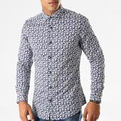 /achat-chemises-manches-longues/mtx-chemise-manches-longues-floral-nh132-bleu-marine-blanc-rouge-193682.html