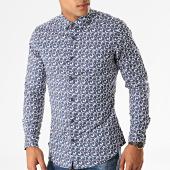 /achat-chemises-manches-longues/mtx-chemise-manches-longues-floral-nh132-blanc-bleu-marine-rouge-193685.html