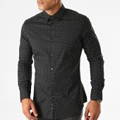 /achat-chemises-manches-longues/mtx-chemise-manches-longues-nh155-noir-blanc-193686.html