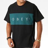 /achat-t-shirts/obey-tee-shirt-conrad-classic-noir-vert-193641.html